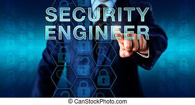 Recruiter Pressing SECURITY ENGINEER - Corporate recruitment...