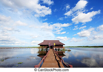 Thale Noi in Phatthalung Province, is one of the biggest...