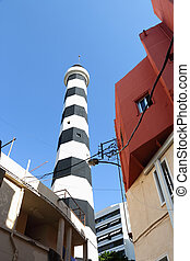 Old Lighthouse, Beirut - The old lighthouse, now out of use...