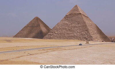 Great Pyramids. Cairo. Egypt