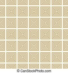 Seamless Yellow Abstract Pattern from Rectangle Intersections
