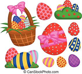 The easter eggs