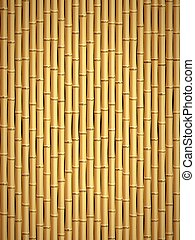 Bamboo pattern - Brown bamboo stick pattern background
