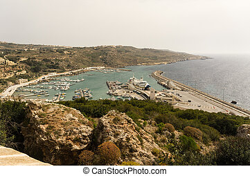 Mgarr harbor Gozo - Mgarr harbor, the place for connection...