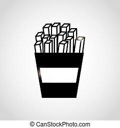 fast food design - fast food design, vector illustration...