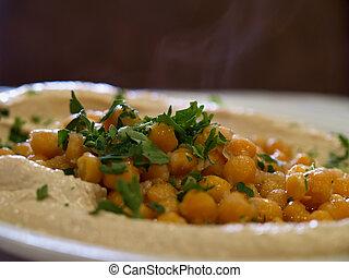 Hummus Middle East food