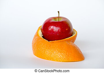 Hiding inside an orange skin - GMO are living organisms...