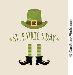 happy St. Patricks day. card or invitation