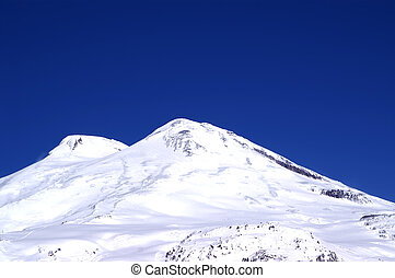 Caucasus Mountains Elbrus