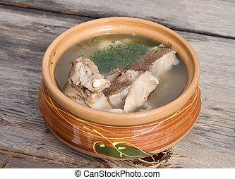 Shurpa (mutton soup)