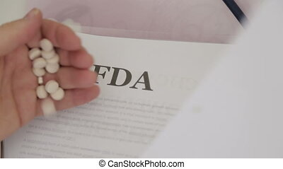 FDA approved medical drugs papers
