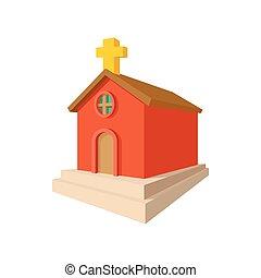 Church cartoon icon