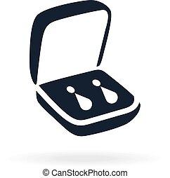 jewelry icon in a small box.