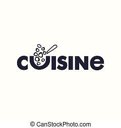 logo text cuisine