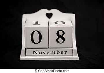Calendar cubes november, eighth, 8, 8th - Calendar cubes...