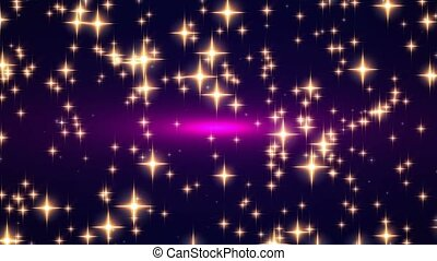 Abstract background, light, particl - Animated background...