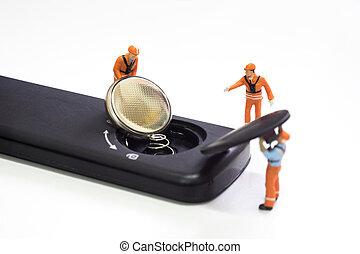 Worker loading battery