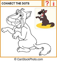 0216_5 connect the dots - Connect the dots, preschool...