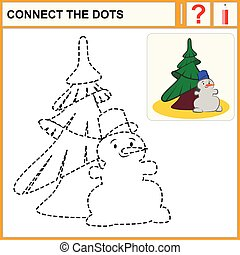 0216_10 connect the dots - Connect the dots, preschool...