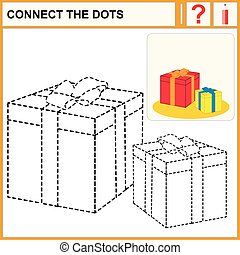 0216_15 connect the dots - Connect the dots, preschool...