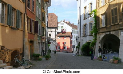 quot;daily life on swiss streets, switzerlandquot; - daily...