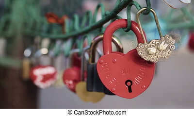 Locks couples on design - Hanging on iron lock design...