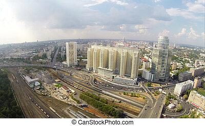 Khoroshyovsky District - Aerial view of Khoroshyovsky...