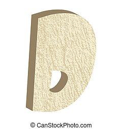 Font Type Rock D
