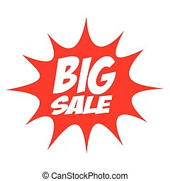 Big Sale Splash Icon