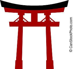 Japan torii - Japan gate torii