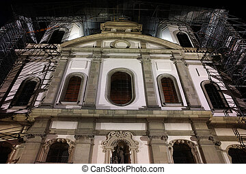 photo of Jesuit Church in Luzern - Night photo of Jesuit...
