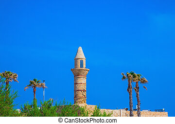 Fortifications of the Arab period Caesarea - National park...
