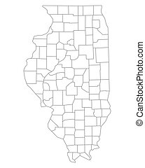 Map of Illinois