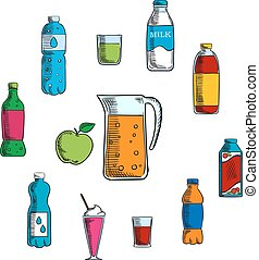 Non alcoholic beverage and drinks