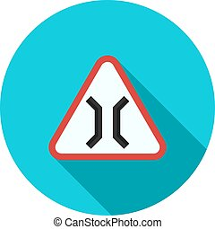 Bridge, gate, highway icon vector image Can also be used for...