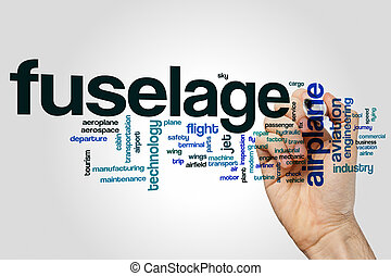 Fuselage word cloud concept - Fuselage word cloud