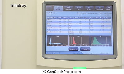 Modern high-performance automatic hematology analyzer with...
