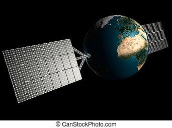 Solar Powered Earth