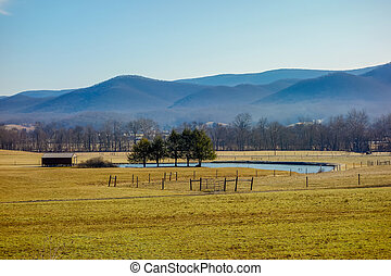 west virginia mountain landscapes