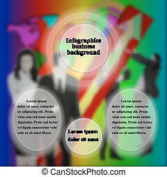 infographics business people