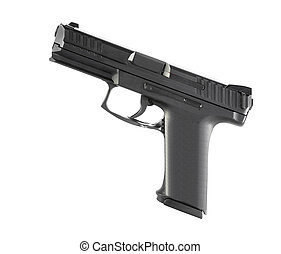 9mm semi-automatic pistol  - 9mm semi-automatic pistol