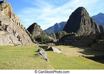 Machu picchu city , Peru