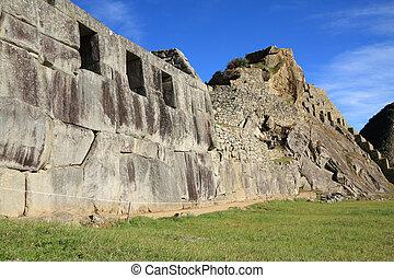 Machu Picchu ruins in Peru