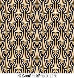 Gold luxury pattern design