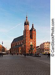 St. Mary's Basilica, Krakow Poland