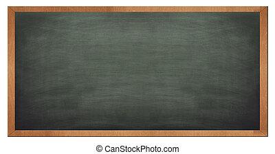 Blank old blackboard