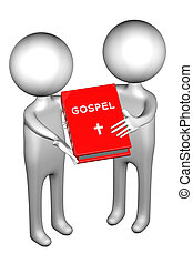 3d People with Gospel