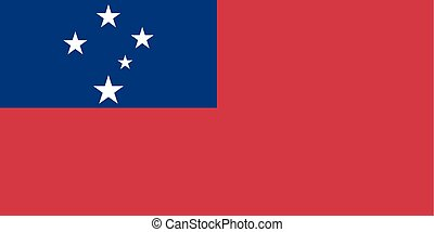 Standard Proportions for Samoa Flag - Standard Proportions...