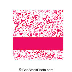 Vector Greeting Card or Invitation for Parties, Weddings,...