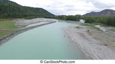 Bukhtarma River . Eastern Kazakhstan. - The Bukhtarma River...